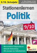 Cover-Bild zu Stationenlernen Politik / Klasse 9-10 (eBook) von Pölert-Klassen, Annette