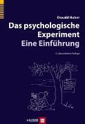 Cover-Bild zu Das psychologische Experiment von Huber, Oswald