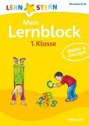 Cover-Bild zu Mein Lernblock 1. Klasse. Mathe & Deutsch
