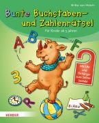 Cover-Bild zu Bunte Buchstaben- und Zahlenrätsel