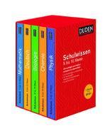 Cover-Bild zu Duden Schulwissen 5. bis 10. Klasse 5 Bände von Pews-Hocke, Christa