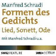Cover-Bild zu Die Formen des Gedichts (Audio Download) von Schradi, Manfred