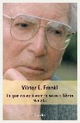 Cover-Bild zu Lo que no está escrito en mis libros (eBook) von Frankl, Viktor