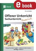 Cover-Bild zu Offener Unterricht Sachunterricht - praktisch 3-4 (eBook) von Ernsten, Svenja