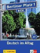 """Cover-Bild zu Berliner Platz 1 NEU - Lehr- und Arbeitsbuch 1 mit 2 Audio-CDs und """"Treffpunkt D-A-CH"""" von Lemcke, Christiane"""