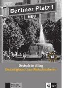 Cover-Bild zu Berliner Platz 1 NEU - Deutschglossar zum Wortschatzlernen