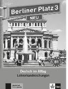 Cover-Bild zu Berliner Platz 3 NEU - Lehrerhandreichungen 3 von Kaufmann, Susan