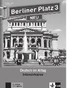 Cover-Bild zu Berliner Platz 3 NEU - Intensivtrainer 3 von Lemcke, Christiane