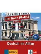 Cover-Bild zu Berliner Platz 3 NEU - 2 Audio-CDs zum Lehrbuchteil