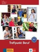 Cover-Bild zu Berliner Platz 3 NEU - Treffpunkt Beruf B1 mit Audio-CD von Rohrmann, Lutz