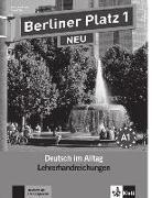 Cover-Bild zu Berliner Platz 1 NEU - Lehrerhandreichungen 1 von Kaufmann, Susan