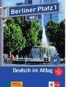 """Cover-Bild zu Berliner Platz 1 NEU - Lehr- und Arbeitsbuch 1 mit 2 Audio-CDs und """"Im Alltag EXTRA"""" von Kaufmann, Susan"""