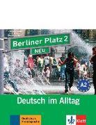 Cover-Bild zu Berliner Platz 2 NEU - 2 Audio-CDs zum Lehrbuchteil von Lemcke, Christiane