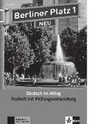 Cover-Bild zu Berliner Platz 1 NEU - Testheft mit Prüfungsvorbereitung 1 mit Audio-CD von Rodi, Margret