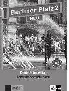 Cover-Bild zu Berliner Platz 2 NEU - Lehrerhandreichungen 2 von Kaufmann, Susan