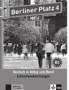 Cover-Bild zu Berliner Platz 4 NEU - Lehrerhandreichungen