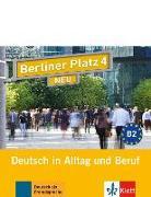 Cover-Bild zu Berliner Platz 4 NEU - 2 Audio-CDs zum Lehrbuchteil