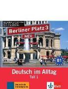 Cover-Bild zu Berliner Platz 3 NEU in Teilbänden - Audio-CD zum Lehrbuch, Teil 1