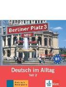Cover-Bild zu Berliner Platz 3 NEU in Teilbänden - Audio-CD zum Lehrbuch, Teil 2