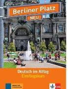 Cover-Bild zu Berliner Platz NEU Einstiegskurs von Kaufmann, Susan
