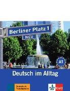 Cover-Bild zu Berliner Platz 1 NEU in Teilbänden - Audio-CD zum Lehrbuch, Teil 1 von Lemcke, Christiane