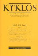 Cover-Bild zu 2002/4: Kyklos