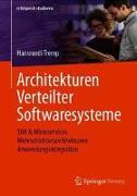Cover-Bild zu Architekturen Verteilter Softwaresysteme von Tremp, Hansruedi