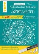 Cover-Bild zu Maxi-Vorlagenmappe Fensterdeko mit dem Kreidemarker - Jahreszeiten. Inkl. Original Kreul-Kreidemarker, Sticker und Glitzer-Steinchen von Schwab, Ursula