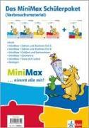 Cover-Bild zu MiniMax 1. Schülerpaket (4 Themenhefte: Zahlen und Rechnen A, Zahlen und Rechnen B, Größen und Sachrechnen, Geometrie) - Verbrauchsmaterial Klasse 1