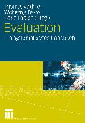 Cover-Bild zu Widmer, Thomas (Hrsg.): Evaluation (eBook)