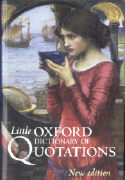 Cover-Bild zu The Little Oxford Dictionary of Quotations