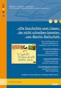 Cover-Bild zu »Die Geschichte vom Löwen, der nicht schreiben konnte« von Martin Baltscheit von Böhmann, Marc