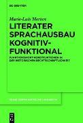 Cover-Bild zu Literater Sprachausbau kognitiv-funktional (eBook) von Merten, Marie-Luis