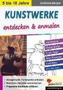 Cover-Bild zu Kunstwerke entdecken & anmalen (eBook) von Berger, Eckhard