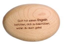Cover-Bild zu Holzstein - Gott hat seinen Engeln befohlen, dich zu beschützen, wohin du auch gehst