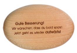 Cover-Bild zu Holzstein 'Gute Besserung!'