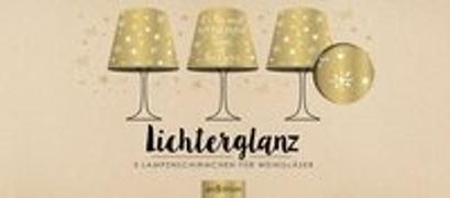 Cover-Bild zu deluxe: Lichterglanz Kerzenschirme Gold