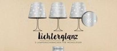 Cover-Bild zu deluxe: Lichterglanz Kerzenschirme Silber