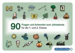 Cover-Bild zu 90 Fragen und Antworten zum Jahreskreis von Langhans, Katrin