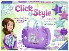 Cover-Bild zu Click & Style Herztasche Einhörner
