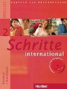 Cover-Bild zu Schritte international 2. Kursbuch + Arbeitsbuch mit Audio-CD zum Arbeitsbuch und interaktiven Übungen von Niebisch, Daniela