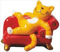 Cover-Bild zu Oommh-Katze: Figur mit Sofa