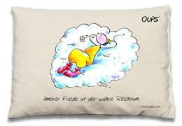 Cover-Bild zu Oups Zirben-Kissen. Innerer Friede ist der wahre Reichtum