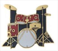 Cover-Bild zu Pin Drum Set Red