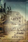 Cover-Bild zu Metallschild WortProjekt: Denn Gott hat uns nicht einen Geist der Furcht gegeben