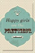 "Cover-Bild zu Metallschild ""Happy girls are the prettiest"""