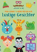 Cover-Bild zu Mein Immer-wieder-Stickerbuch: Lustige Gesichter von Smith, Sam