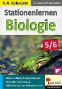 Cover-Bild zu Stationenlernen Biologie 5/6 (eBook) von Lamm, Dipl. -Biol. Stefan