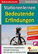 Cover-Bild zu Stationenlernen Bedeutende Erfindungen von Weimann, Viktoria