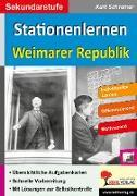 Cover-Bild zu Stationenlernen Weimarer Republik von Schreiner, Kurt